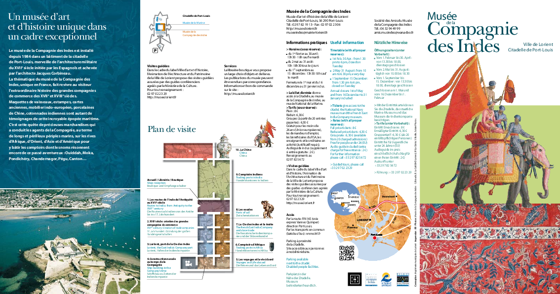 Discover the museum (booklet in french, english and german)