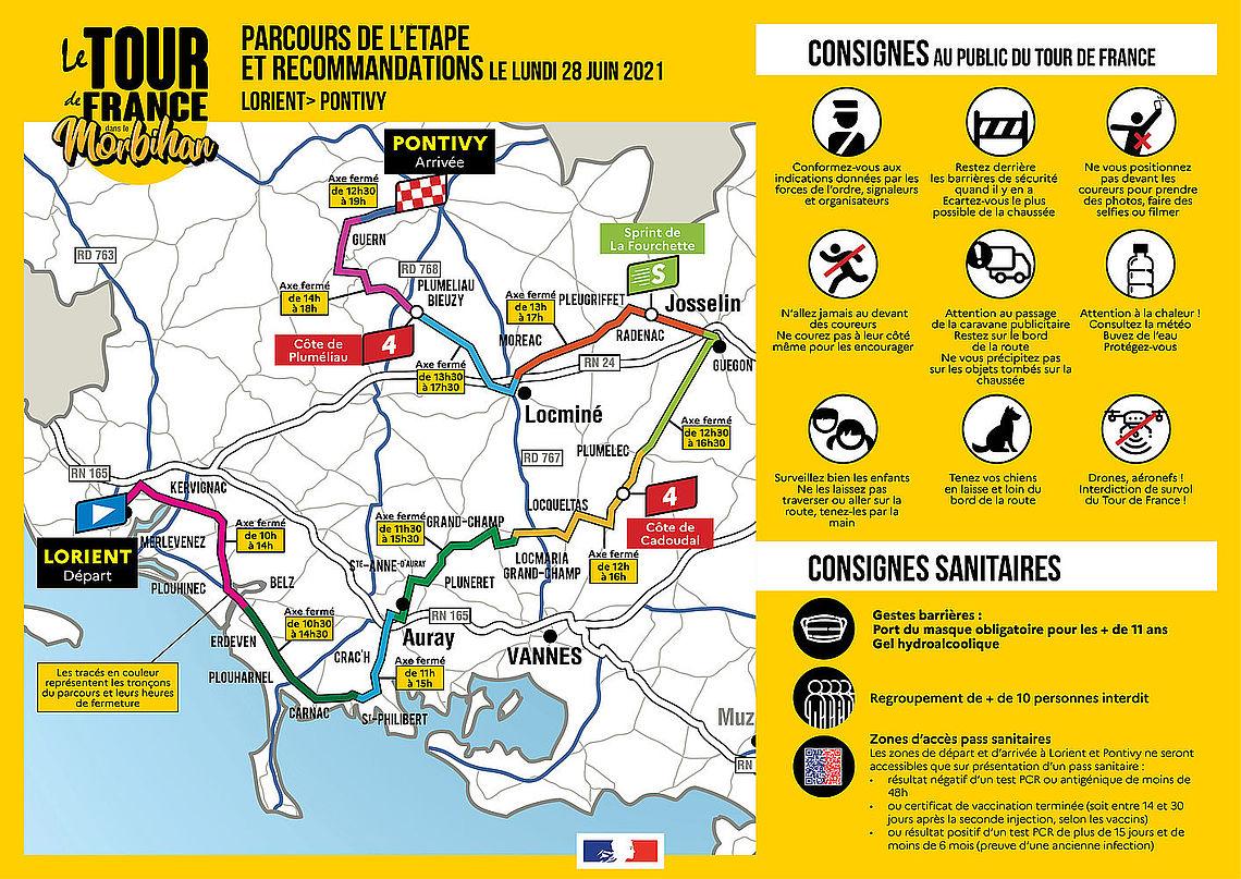 Infographie de la préfecture du Morbihan