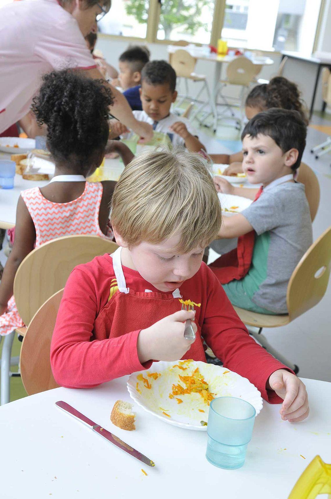 Salle à manger des petits à René-Guy Cadou