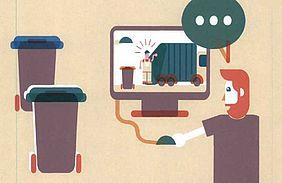 Enquête sur la gestion des déchets