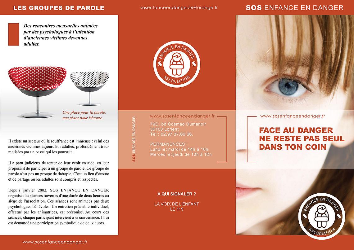 SOS enfance en danger dépliant P1