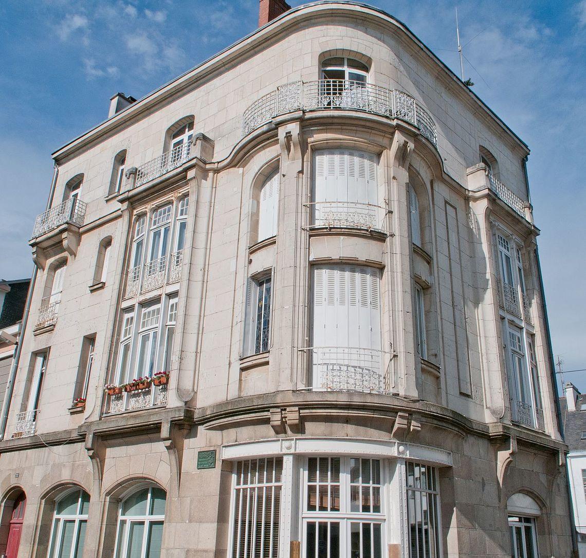 immeuble en haut de la rue Poissonnière... cliquez pour agrandir