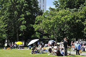 Bois du château, la fête de quartier en juin dernier