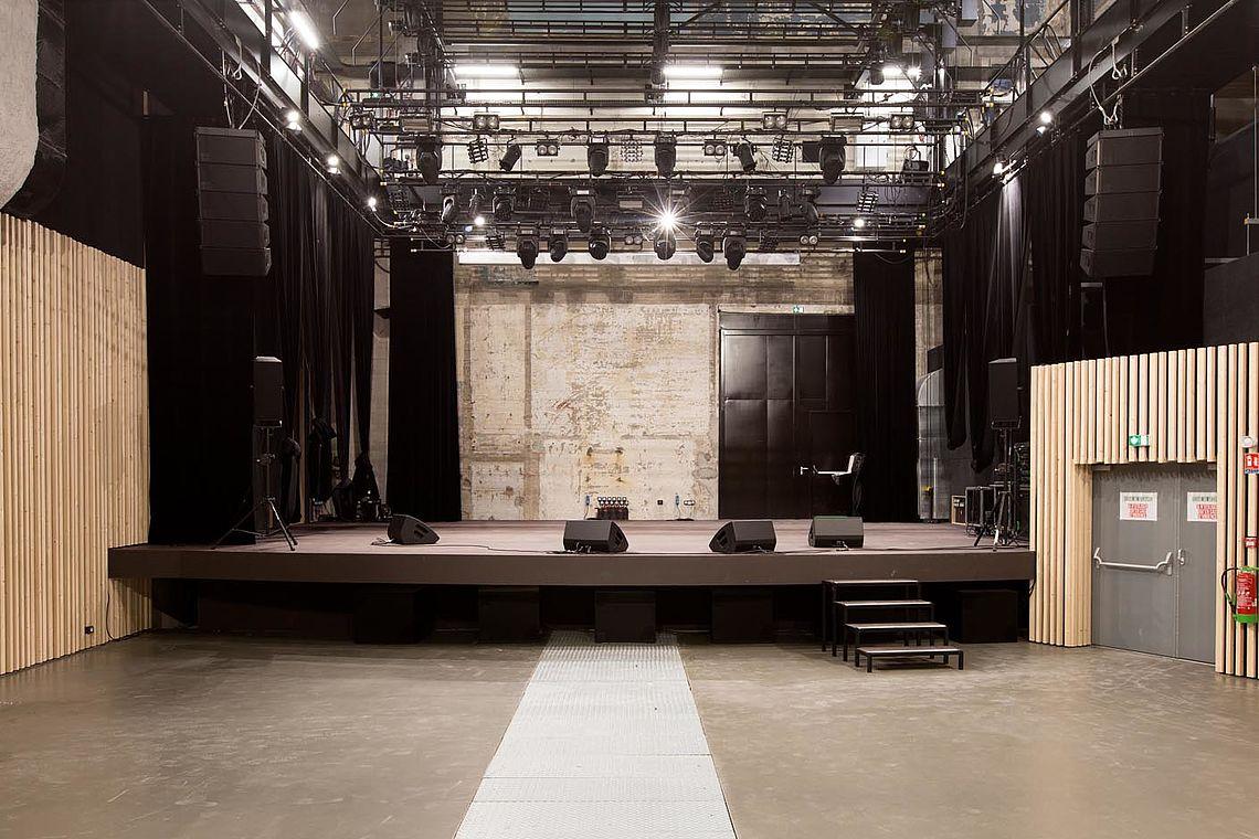 Hydrophone Grande salle