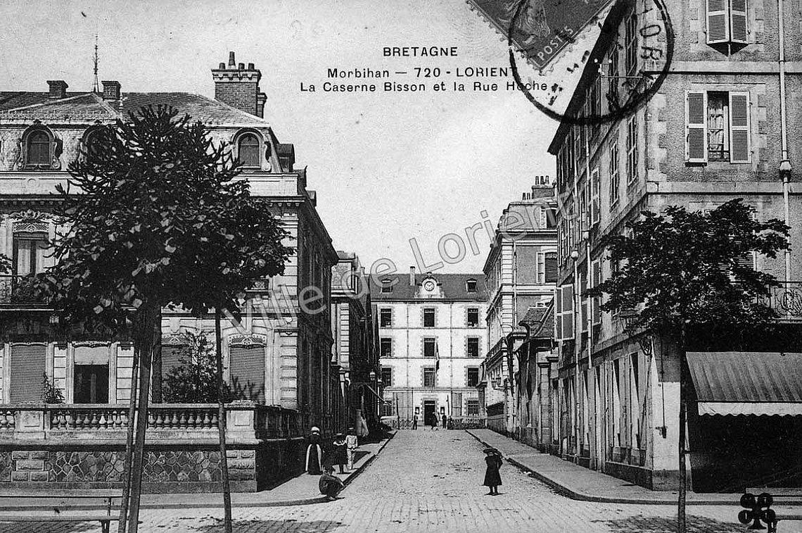 Caserne Bisson et rue Hoche