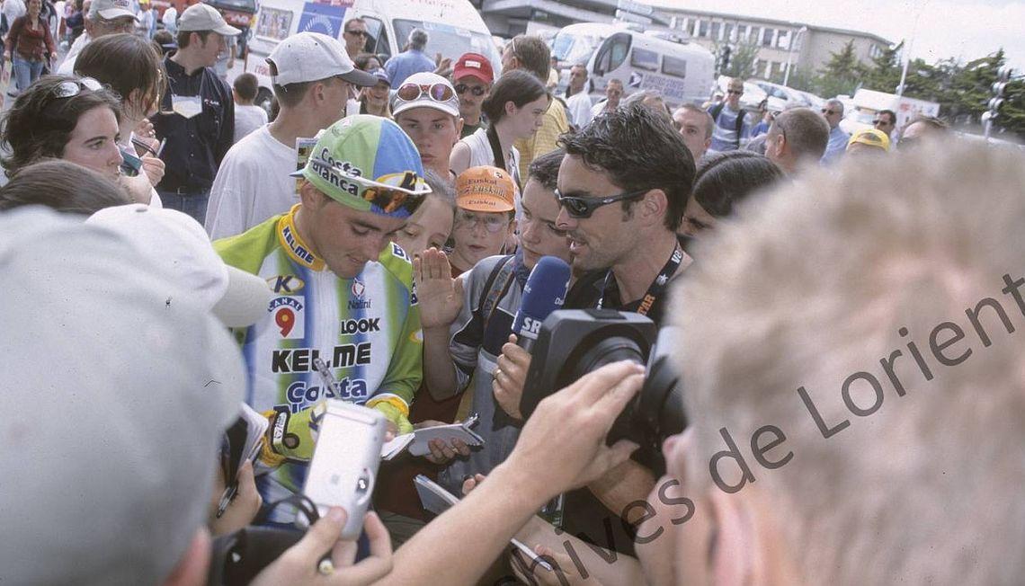 Tour de France cycliste 2002
