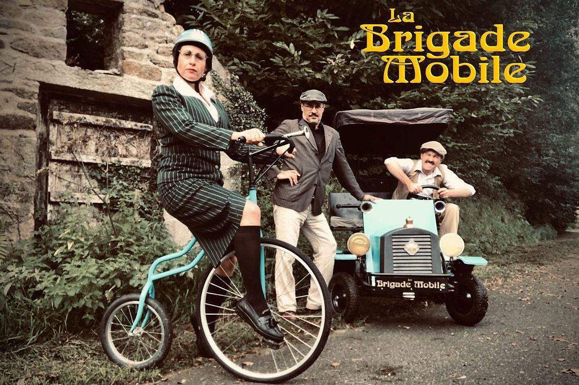 La Brigade mobile. Image : Les Fées railleuses