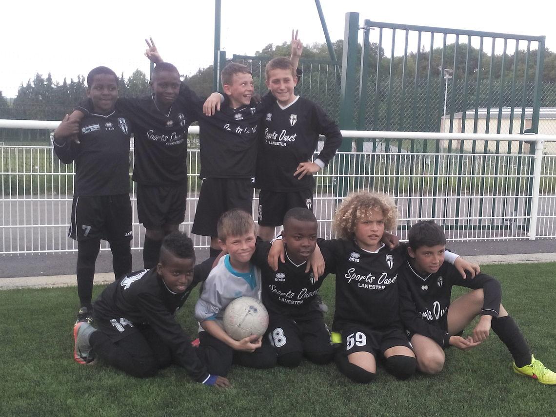Football U11 la Vigilante de Keryado