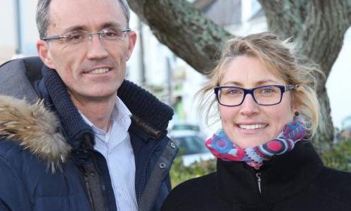 Laurent Tonnerre et Gaëlle Le Stradic