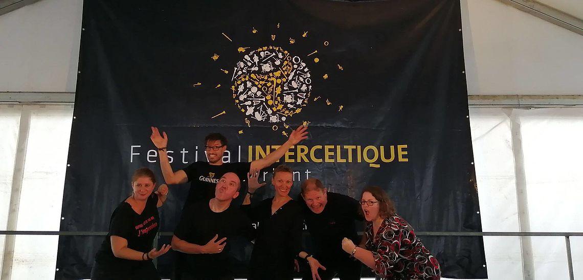 Spectacle au Festival Interceltique