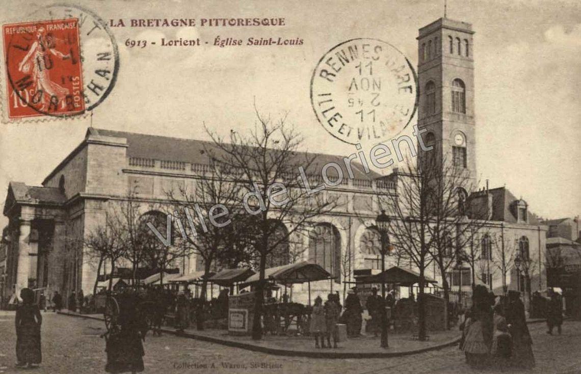 ancienne église Saint Louis