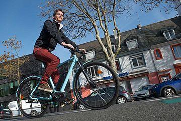 vélo électrique - photo Hervé Cohonner pour Lorient Agglo