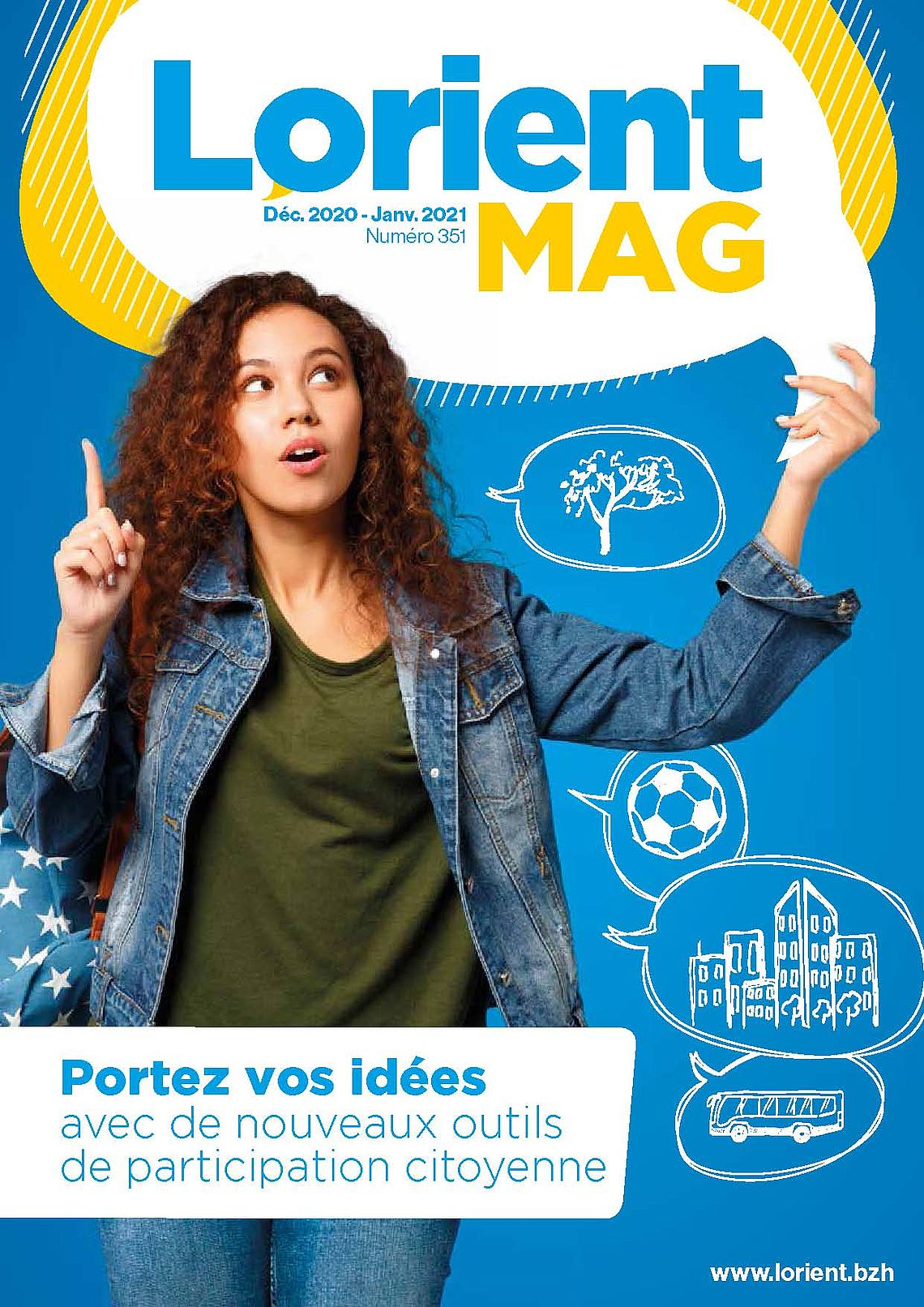 Lorient Mag 351 - janvier 2021