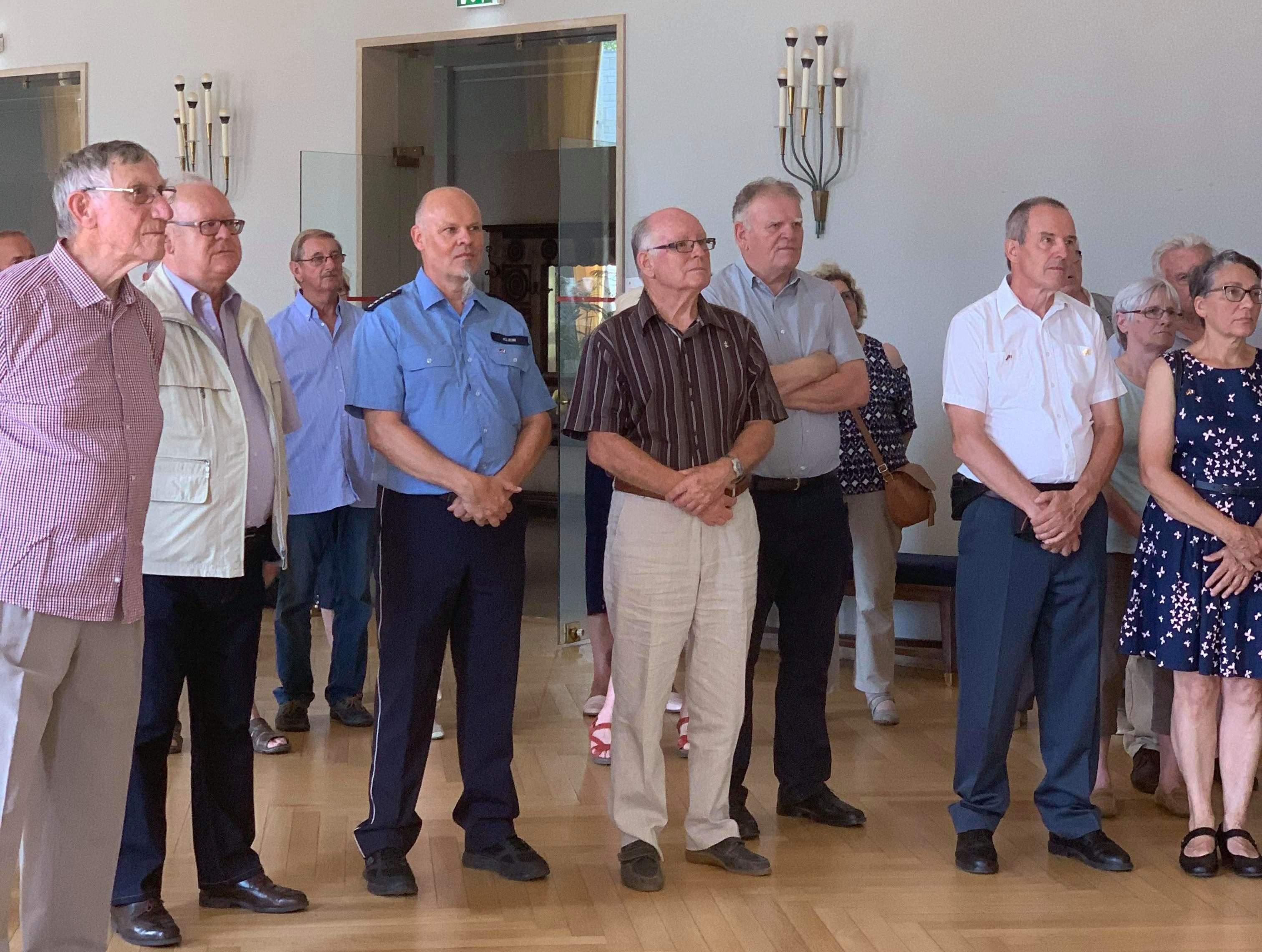 Réception d'une association allemande le 16 juillet à Lorient