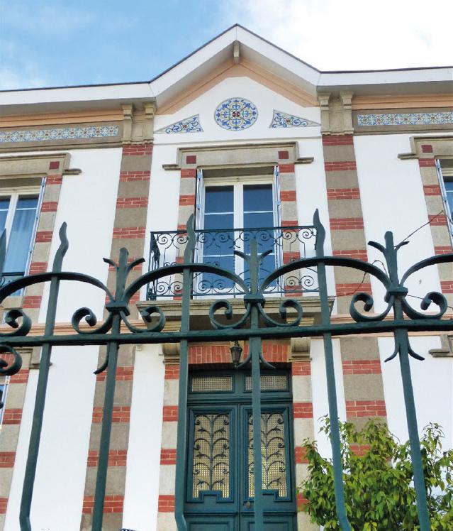 Maison début XXe siècle rue Capitaine Lefort - circuit 7