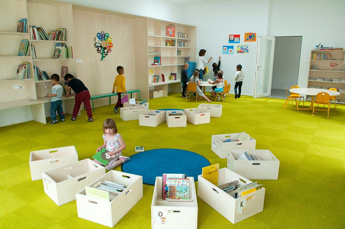 Bibliothèque de la maternelle René-Guy Cadou