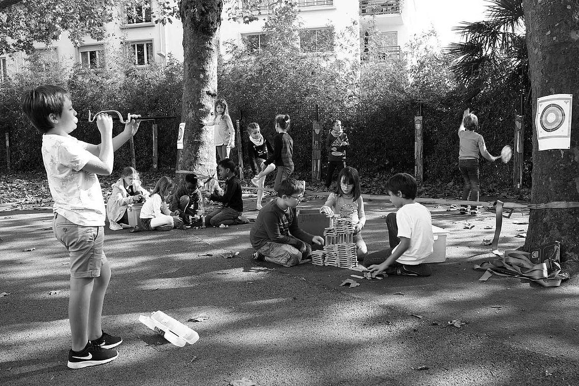 Droit aux loisirs - la liberté de jouer ensemble