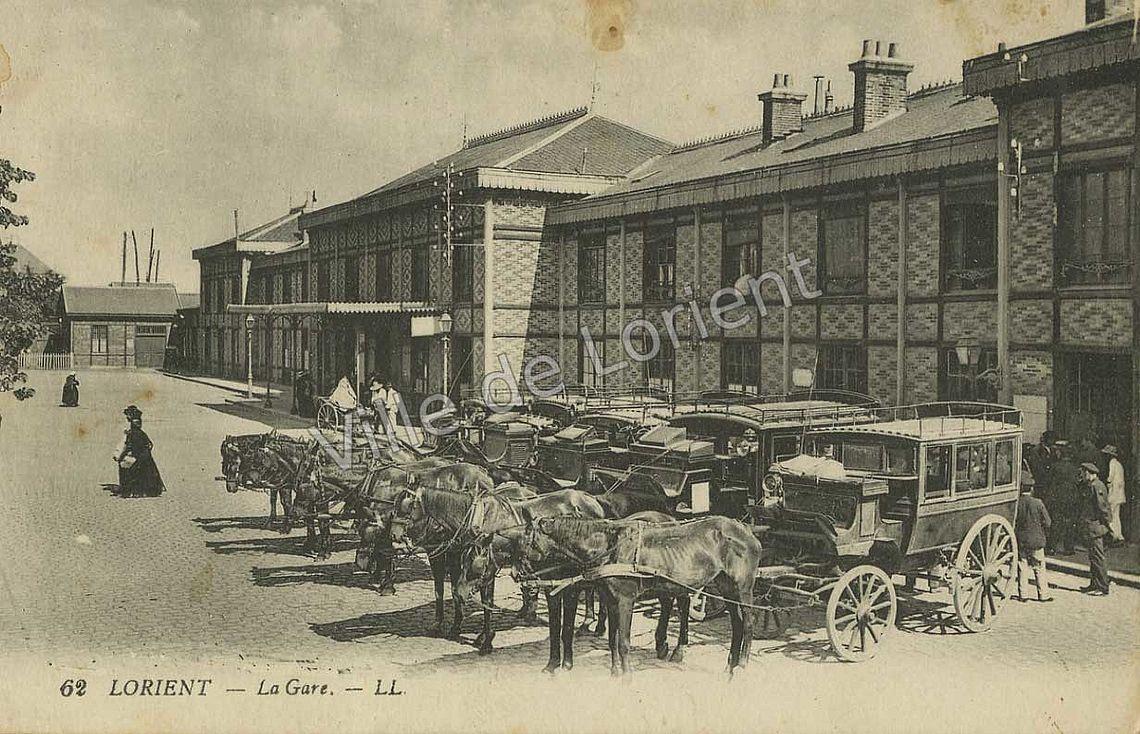 la gare de Lorient