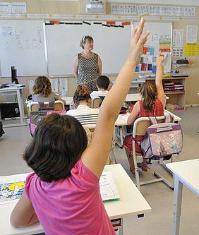 Une classe à l'école René-Guy Cadou