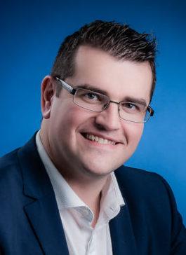 Gaël LE FUR, 1er adjoint, chargé de l'éducation, de la vie étudiante, des apprentis et de la prévention santé