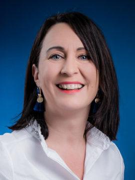 Morgane Christien, adjointe au maire chargée de l'éducation, de la vie étudiante, de la prévention santé et de l'administration générale
