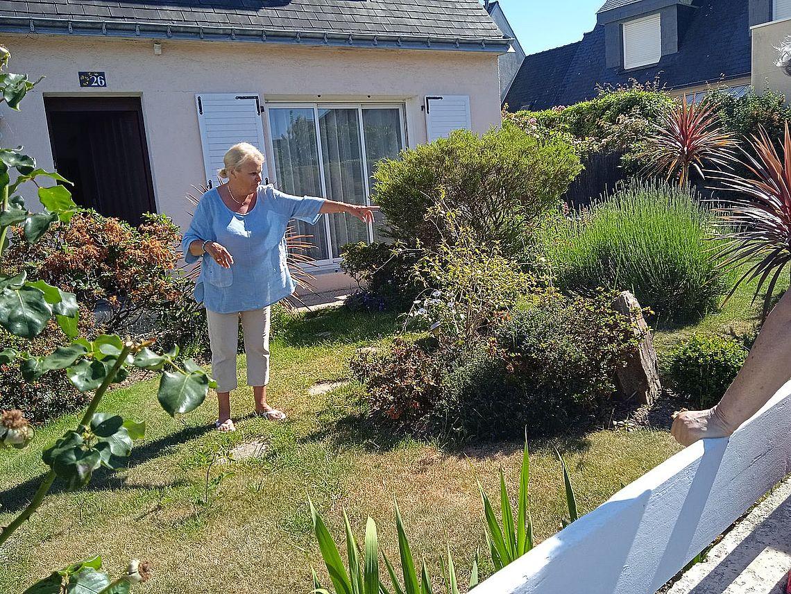 Danielle Le Gall 1er prix des jardins
