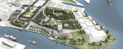 Enclos du port : le projet