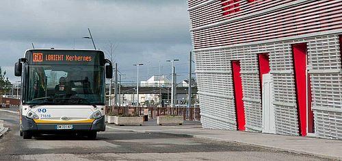 Bus et gare SNCF