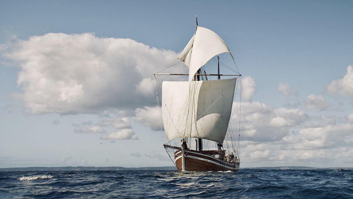 Lun-II, bateau de l'expédition Antarctique 2.0°C