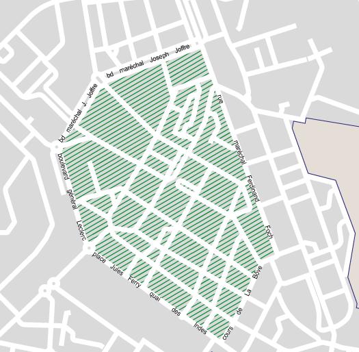 centre-ville en zone 20