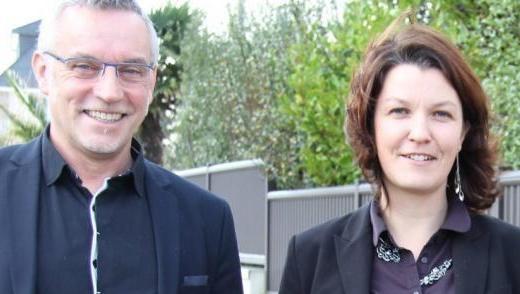 Bruno Blanchard et Karine Rigole