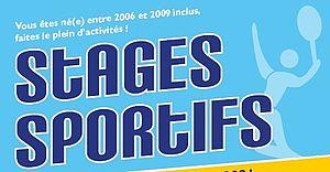 Stages sportifs