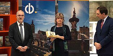 lancement d'un livre historique à Ceske-Budejovice