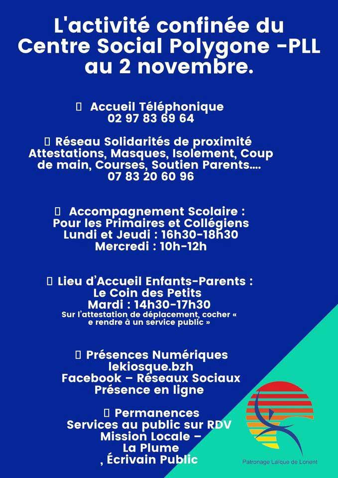 Centre social du Polygone PLL