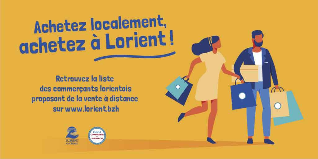 Vente à distance... les initiatives lorientaises