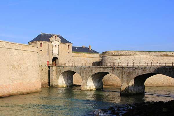 Remparts de la citadelle de Port-Louis