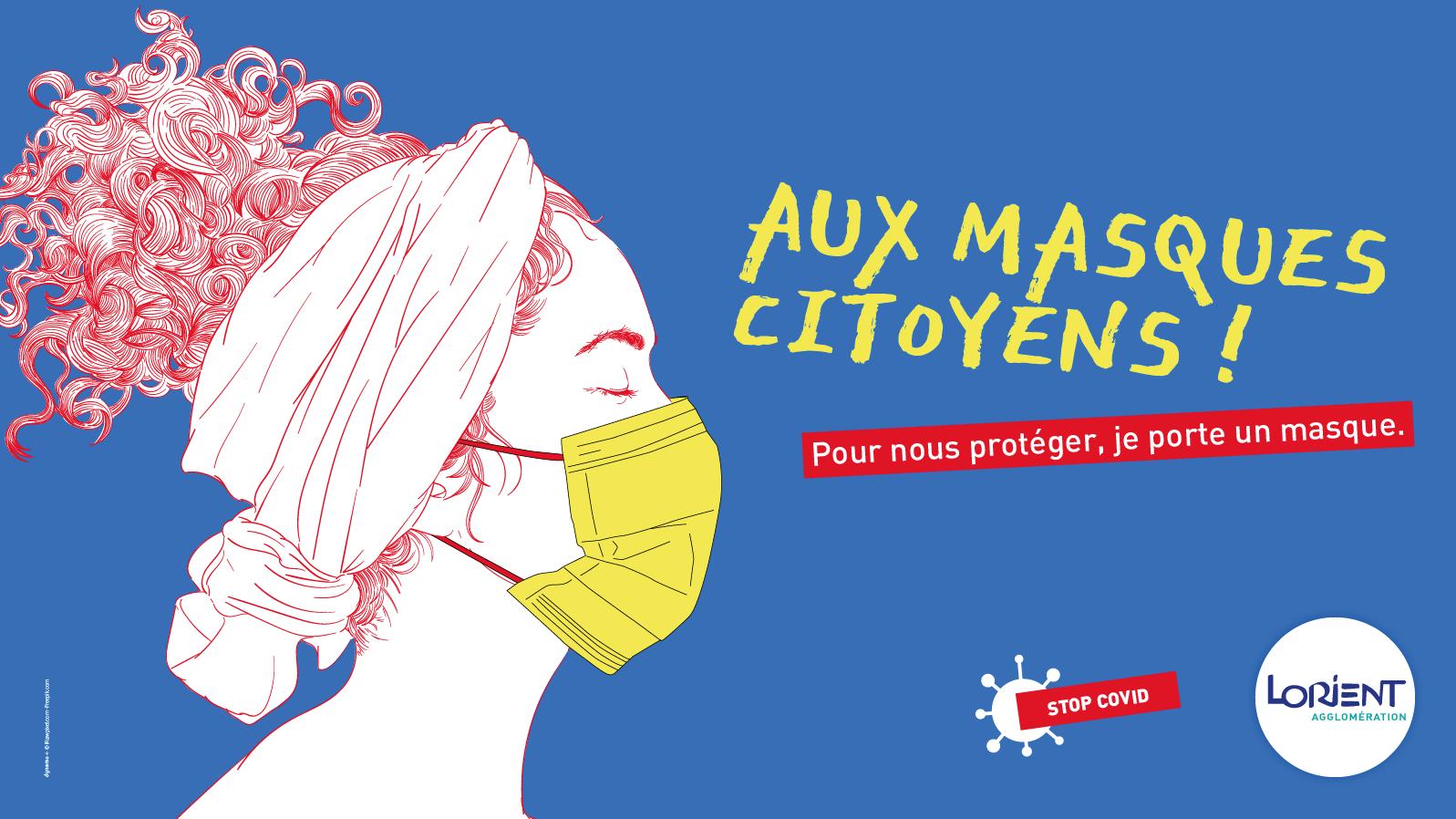 aux masques citoyens !