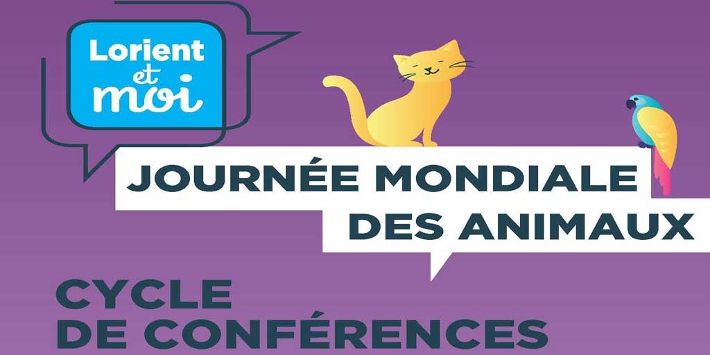 Conférences à l'occasion de la journée mondiale des animaux... cliquez !