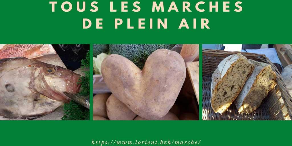 Tous les marchés de Lorient
