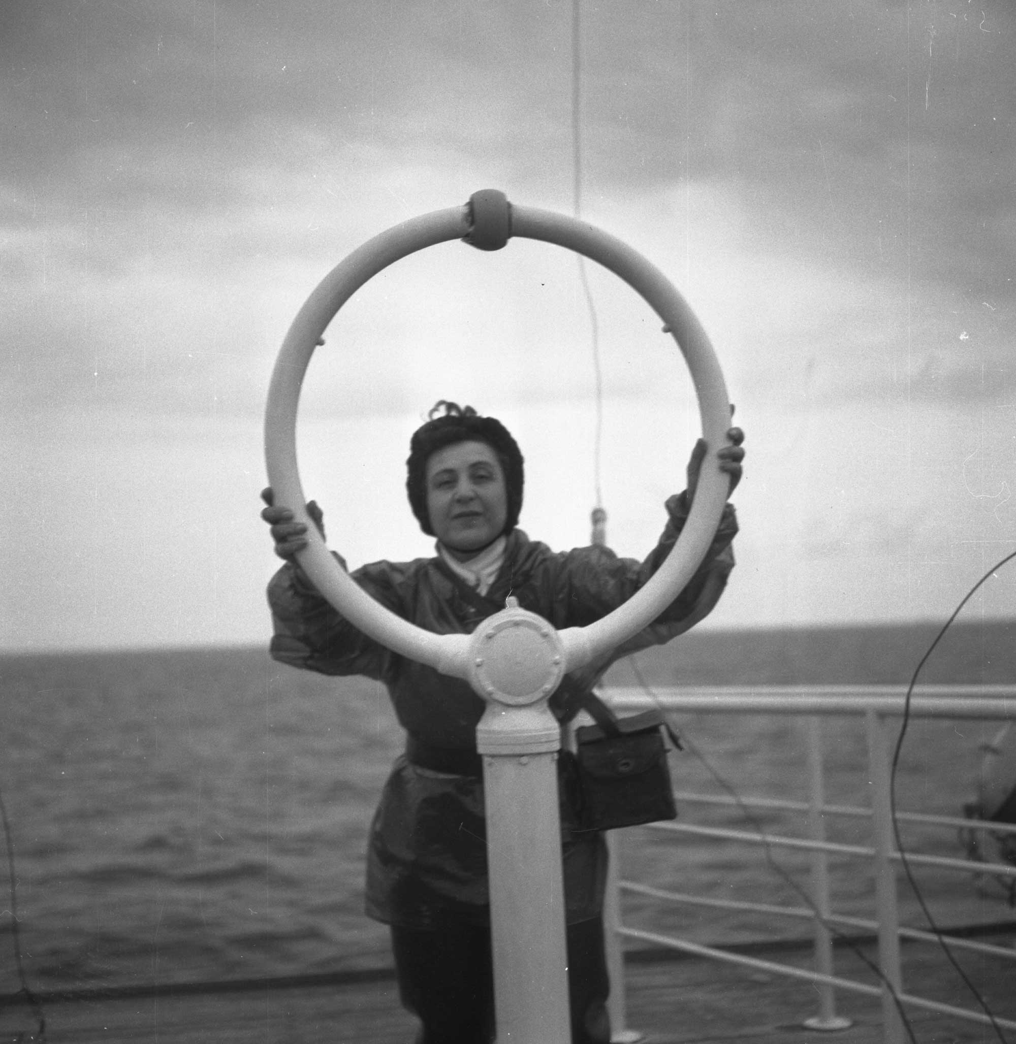 Anita Conti, intron ar mor - © Archives de Lorient