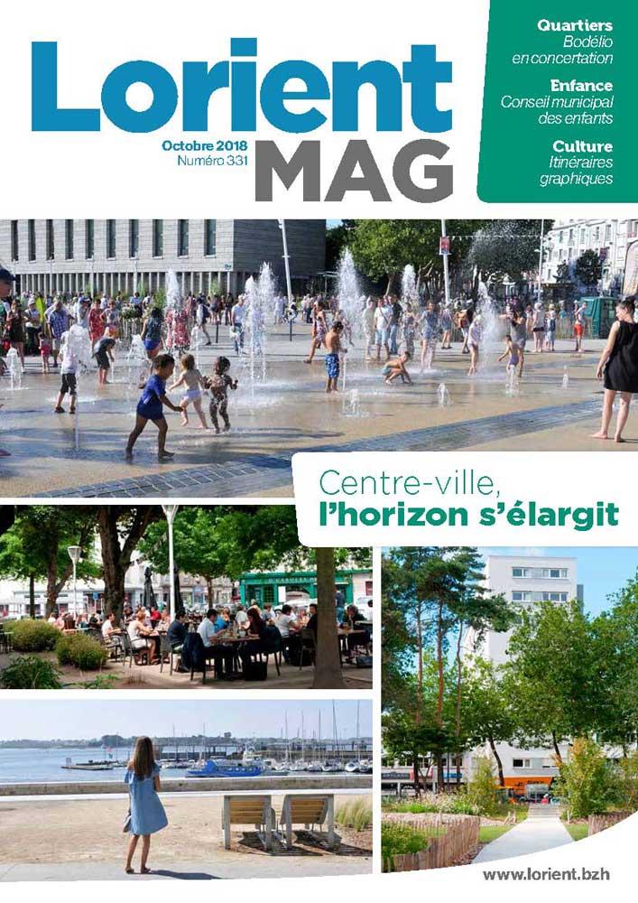 Lorient mag 331 - octobre 2018