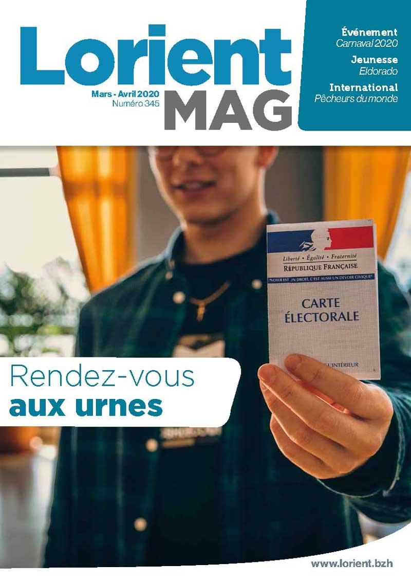 Pour lire le dernier Lorient Mag... Accéder au kiosque