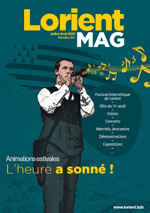 Lorient mag d'été... cliquez pour le lire dans la feuilleteuse Calaméo
