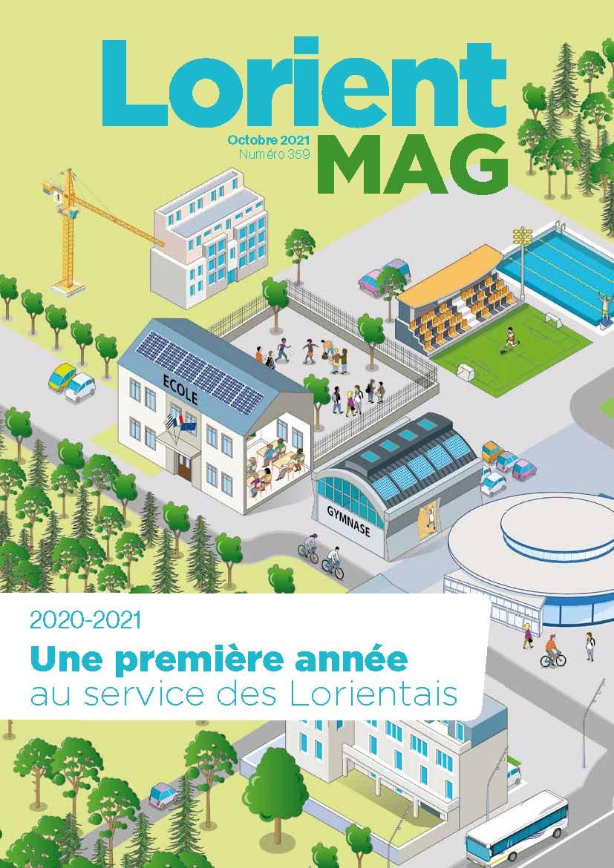 Lorient mag d'octobre. Cliquez pour consulter