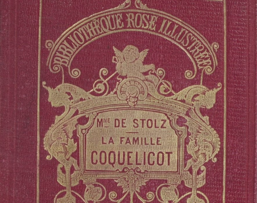 couverture d'un livre de Mme de Stolz