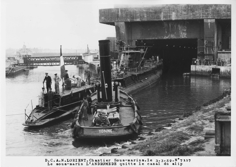 Chantier sous-marin de Lorient - 1959