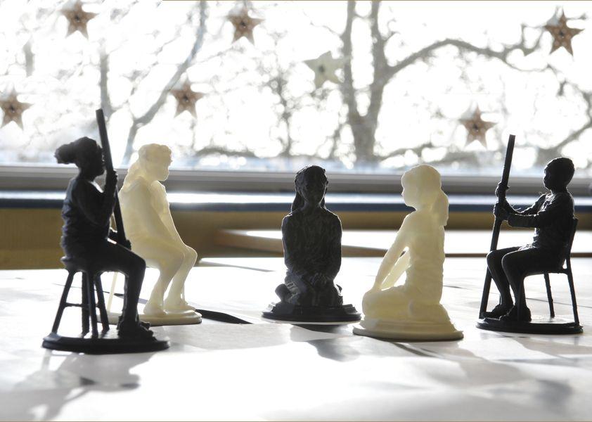 Plateau du jeu d'échec