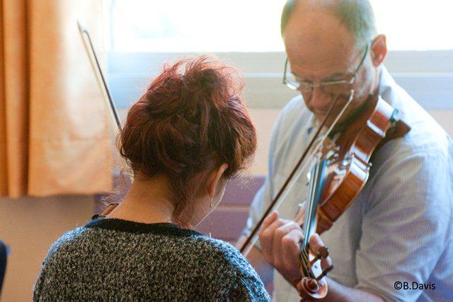Cours de musique ©Bozeanne Davis