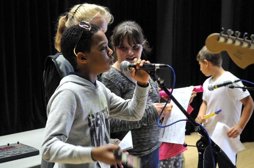 Atelier musique à La Balise