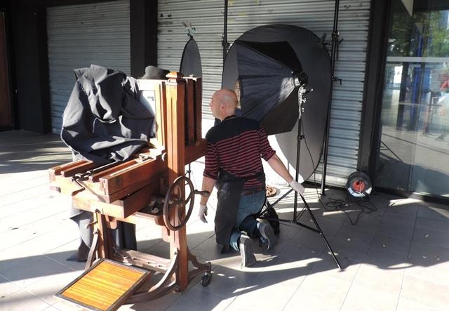 Nicolas Hergoualc'h - Portraits au collodion